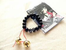 Cosplay Elegant Jigoku Shoujo Hell Girl Enma Ai Black Color Buddha bell Bracelet