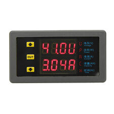 VAM-9020 Dual Display Digital Voltmeter Voltage Meter DC Power Ammeter Capacity