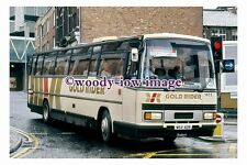 pu0711 - Yorkshire Gold Rider Coach no 1605 at Luton in 1988 - photograph
