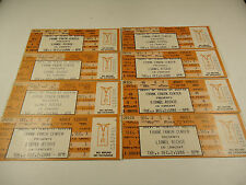 8 Lionel Richie Concert Tickets 1986 Austin Texas Music Capitol of the World