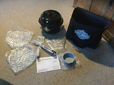 Pre Owned Harley Davidson Portable Charcoal a Grill in Carry Case