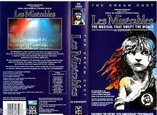 Les Miserables - The Dream Cast (1995) VHS  Video VCI  INGLESE -