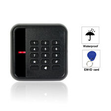 EM-ID 125kHz Keypad Door Access Control Card Reader Waterproof WG26/34+track
