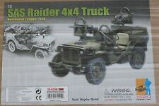 "DRAGON BRITISH SAS RAIDER 4X4 CAMION JEEP boxed1 / 6 12"" L Boxed HOT Toy DID Cyber"