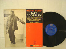 NAT ADDERLEY WORK SONG  VERY RARE ORIGINAL BLUE RIVERSIDE DEEP GROOVE MONO COPY
