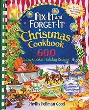FIX-IT AND FORGET-IT *CHRISTMAS COOKBOOK* SLOW COOKER HOLIDAY RECIPES COOKBOOKS