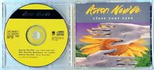 Aaron Neville - Close Your Eyes - Scarce 1991 Cd Single - The Neville Brothers