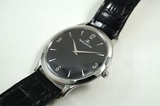 JAEGER LeCOULTRE 145.8.79.S MASTER ULTRA THIN STAINLESS STEEL C.2000'S BUY NOW!!