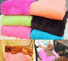Pet Puppy Dog Cat Animal Coral Soft Warm Fleece Blanket Bed Mat Cover