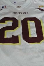 Central Michigan University Game Used Football Jersey Size 44 #20