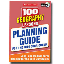100 Geography Lessons Planning Guide 2014 Curriculum CD-ROM Study book Year 1-6