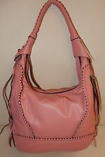New  orYANY Soft Nappa Leather Hobo - Michelle in Rose