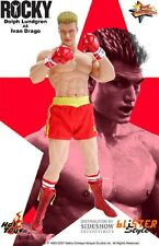 NEW HOT TOYS 1/6 ROCKY BALBOA IV IVAN DRAGO ACTION FIGURE STATUE HOTTOYS RAMBO