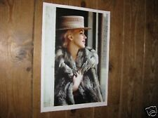 Marilyn Monroe Fur Coat Hat POSTER