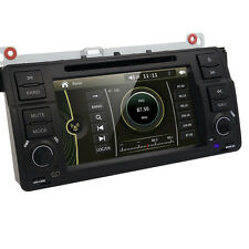 "7"" Car Stereo DVD GPS Navigation Head Unit For BMW E46 3 Series M3 318 320 325"