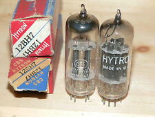 2 NIB CBS/Hytron 12BH7 Tubes (USA Blackplate  D-Getter)-1951 and 1953