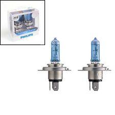Philips H4 Bleu Vision Ultra 4000K Blanc Feux Xenon Ultimate Effect Ampoules