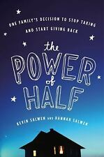 Kevin Salwen and Hannah Salwen~THE POWER OF HALF~SIGNED~1ST/DJ~A NICE COPY