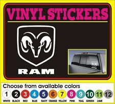 "8"" Dodge Ram Hemi Pickup window car truck vinyl sticker decal"