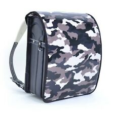 Cover for Randoseru Camouflage Gray PVC coating A4 flatfile school bag Japan #59