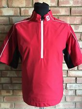 Footjoy DRYJOY Light Mens SS Rain Shirt Red MEDIUM Clearance 95496