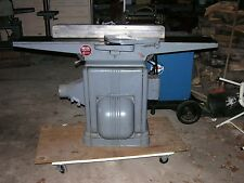 """DELTA MILWAUKEE CRECENT JOINER 3 PHASE 8"""" WITH 60"""" BED HEAVY DUTY"""
