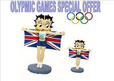 Betty Boop Olympic Special - 2 Betty Champion figurines