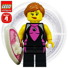 LEGO 8804 Minifigures Series 4 - No.5 Surfer Girl Minifigure