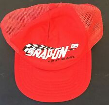 Vintage 1989 Snap On Tools NASCAR racing snapback hat cap
