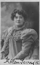 ELLEN TERRY Signed Photograph - Theatre & Stage Actress - Preprint