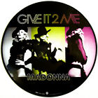"""Madonna Give It 2 Me 12"""" Single Remixes Picture Disc New! Free US Shipping! To"""