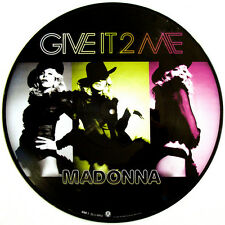 "Madonna Give It 2 Me 12"" Single Remixes Picture Disc New! Free US Shipping! To"