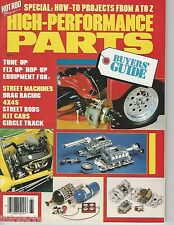 HOT ROD MAGAZINE HIGH PERFORMANCE PARTS BUYERS GUIDE Copyright 1986