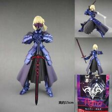 Anime 072 Fate Stay Night balck Saber Action Figures figma With Boxed