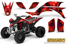 YAMAHA YFZ 450 03-13 ATV GRAPHICS KIT DECALS STICKERS CREATORX INFERNO R