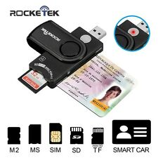 Smart Card Reader USB Smart Card Common Access Card SD Micro SD M2 MS Cards