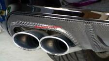 For Benz W204 C63 C350 C300 4MATIC AMG Sport Package Added Carbon Fiber Diffuser