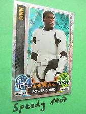 Topps Star Wars Das Erwachen der Macht Force Attax Finn Power Bonus 209