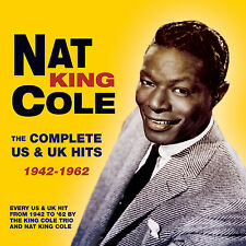 NAT KING COLE New Sealed 2016 COMPLETE US & UK HITS 1942 - 62 5 CD BOXSET