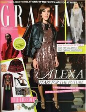 GRAZIA Middle East 29/6/16 (auf Engl.) Alexa Chung Julianne Moore Etc