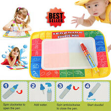 Aquadoodle Kid Toy Water Drawing Writing Painting Doodle Mat Board Magic Pen