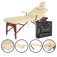 """Master 31"""" SpaMaster Portable Folding Spa Massage Table Package- Biege"""