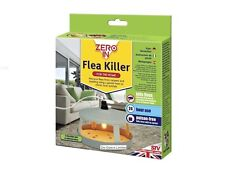 Zeroin Electric Flea Killer Unit Trap With 3 Discs 24hr Protection From Fleas BN