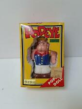 Vintage Rare New Popeye Doll Electric Gas Lighter 1970's Original Box