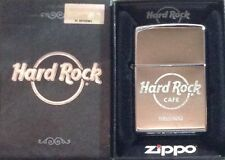 Hard Rock Cafe HELSINKI New Silver Chrome Finish ZIPPO Lighter New Box w/Sticker