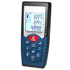 Laser Distance Measurer Meter Range Finder Area + Volume + Pythagorean + Memory