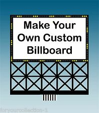 CUSTOM MILLER ENGINEERING  Animated Neon Sign O/HO Scale #88-2351
