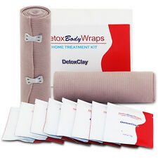 New Neutriherbs Heating Slimming Detox Clay Body Wraps Applicator Toning Firming