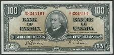 CANADA BC-27b $100 1937 GORDON / TOWERS -- GEM UNC -- WL8155