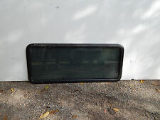 "RV / Trailer Window, 36""X15"", Fixed Window, With Trim Rings, 1 1/8"", Tinted #89"